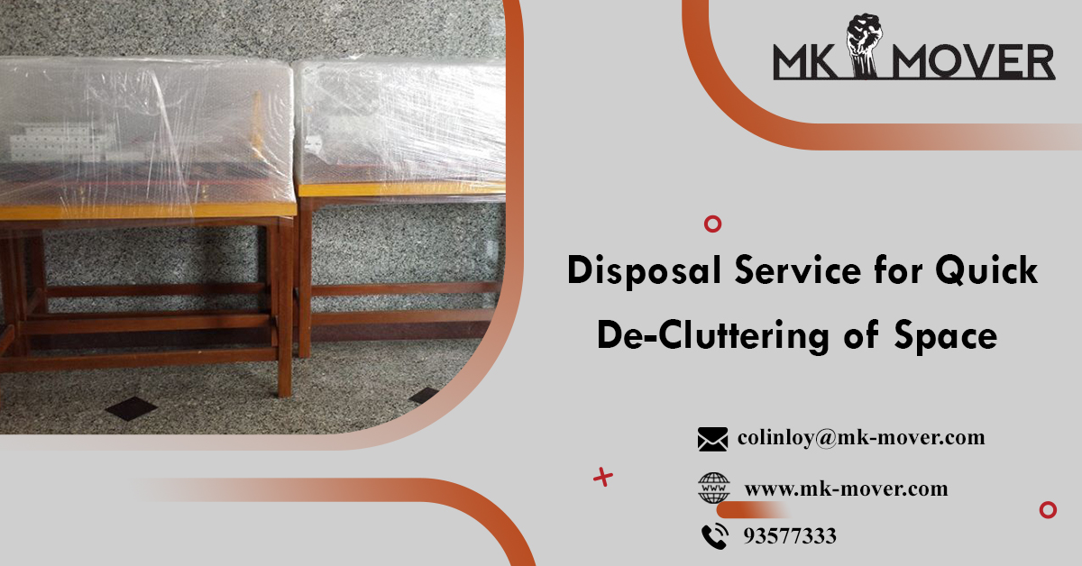 Professional Disposal Service Provider in Singapore
