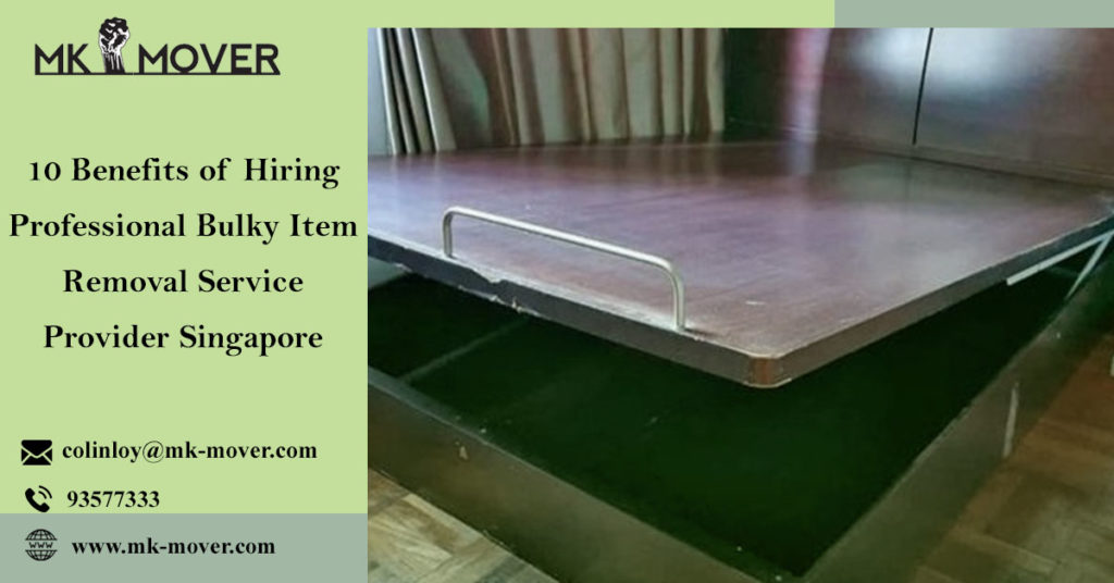 Professional Bulky Item Removal Service Provider Singapore